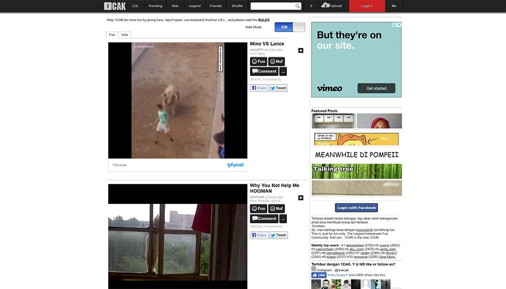 10 Website Video Lucu Untuk Menghibur Hari-Harimu 7