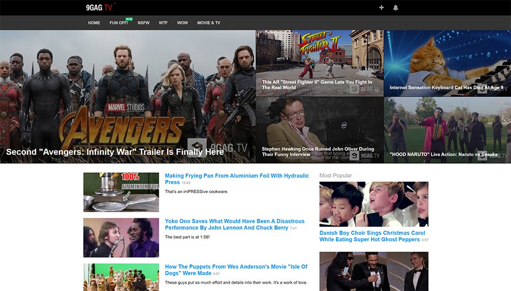 10 Website Video Lucu Untuk Menghibur Hari-Harimu 2