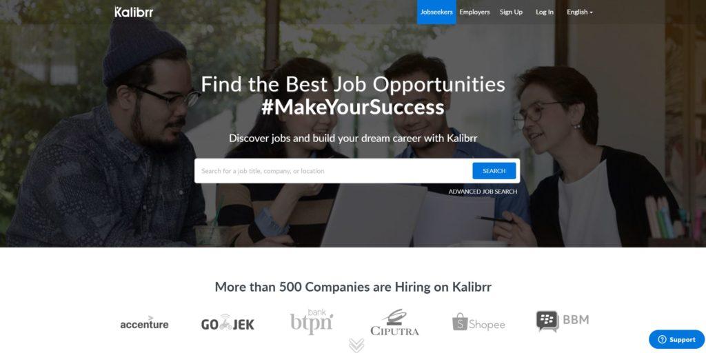 10 Tempat Cari Lowongan Kerja Paling Lengkap di Indonesia 10