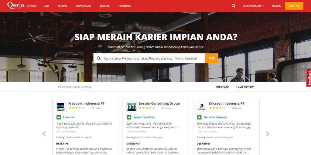 10 Tempat Cari Lowongan Kerja Paling Lengkap di Indonesia 5