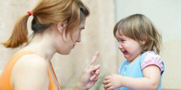 marah kepada anak