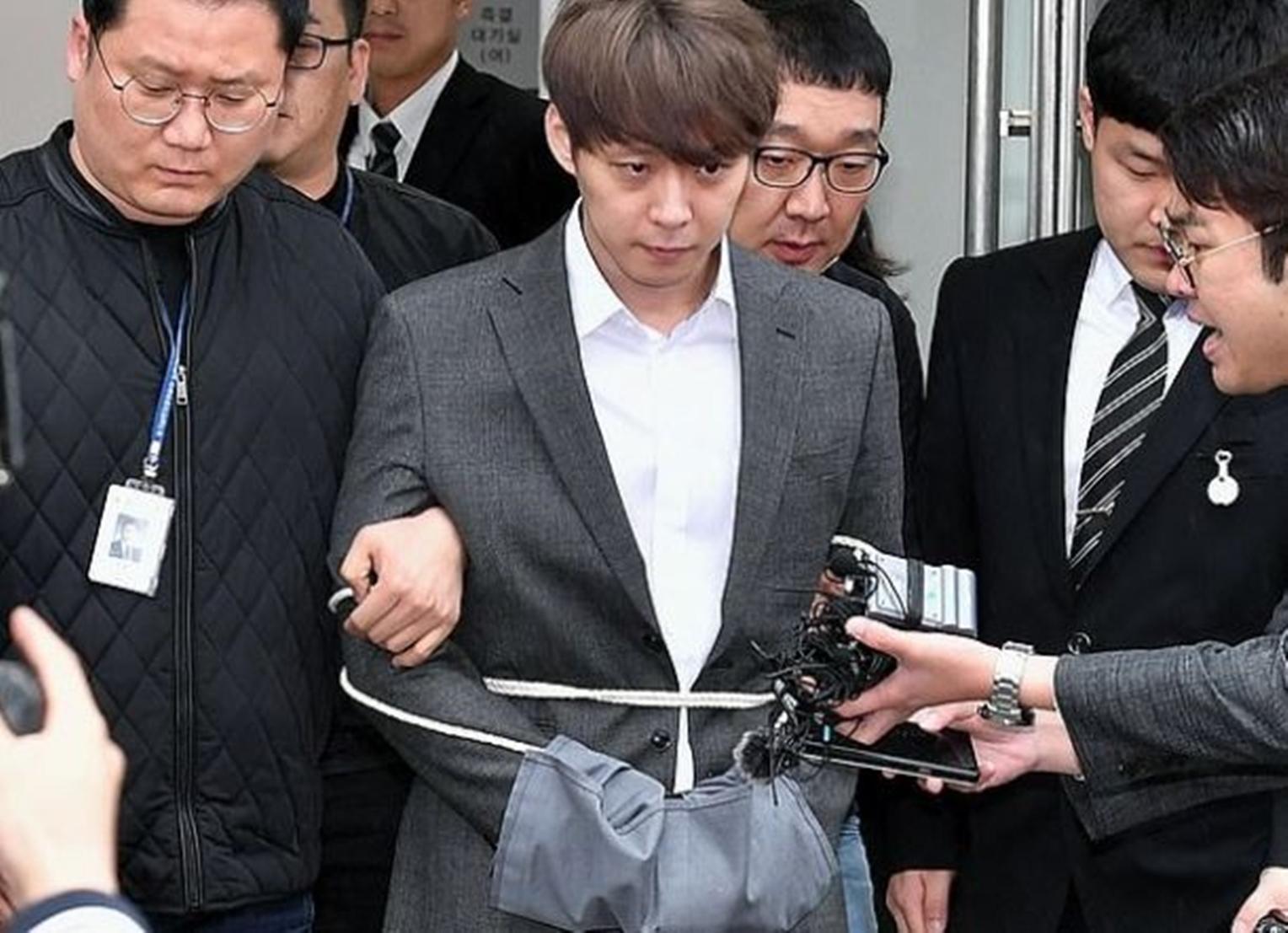 Telah Ditetapkan Tanggal Sidang Pertama Park Yoo Chun Mengenai Kasus Narkoba 4