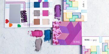 Unik, Makeup ini Menirukan Tema Game Tetris 20