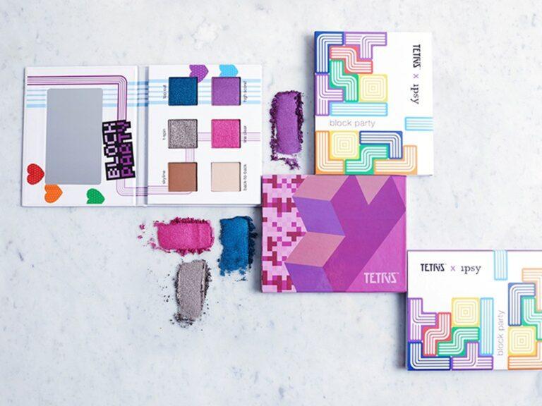 Unik, Makeup ini Menirukan Tema Game Tetris 1