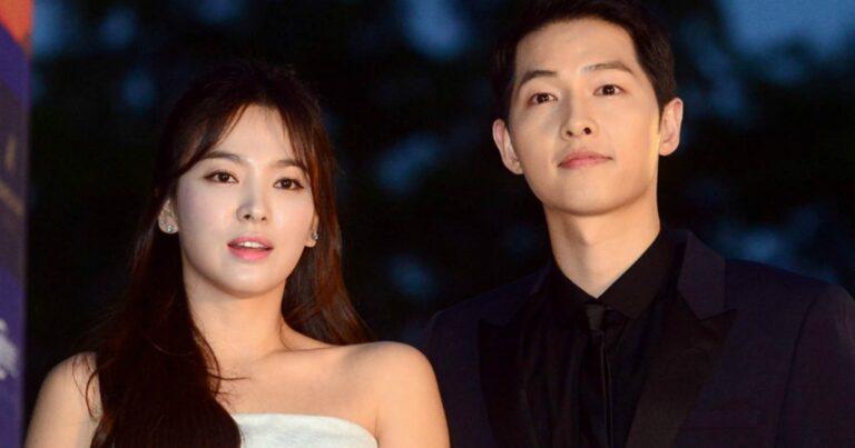 Mengejutkan, Song Joong Ki Mengkonfirmasi dan Mengumumkan Bahwa Dia Akan Menceraikan Song Hye Kyo 1