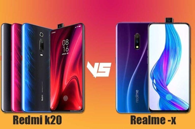 Lebih Bagus Yang Mana ? Perbandingan Spesifikasi Antara Redmi K20 vs Realme X 1