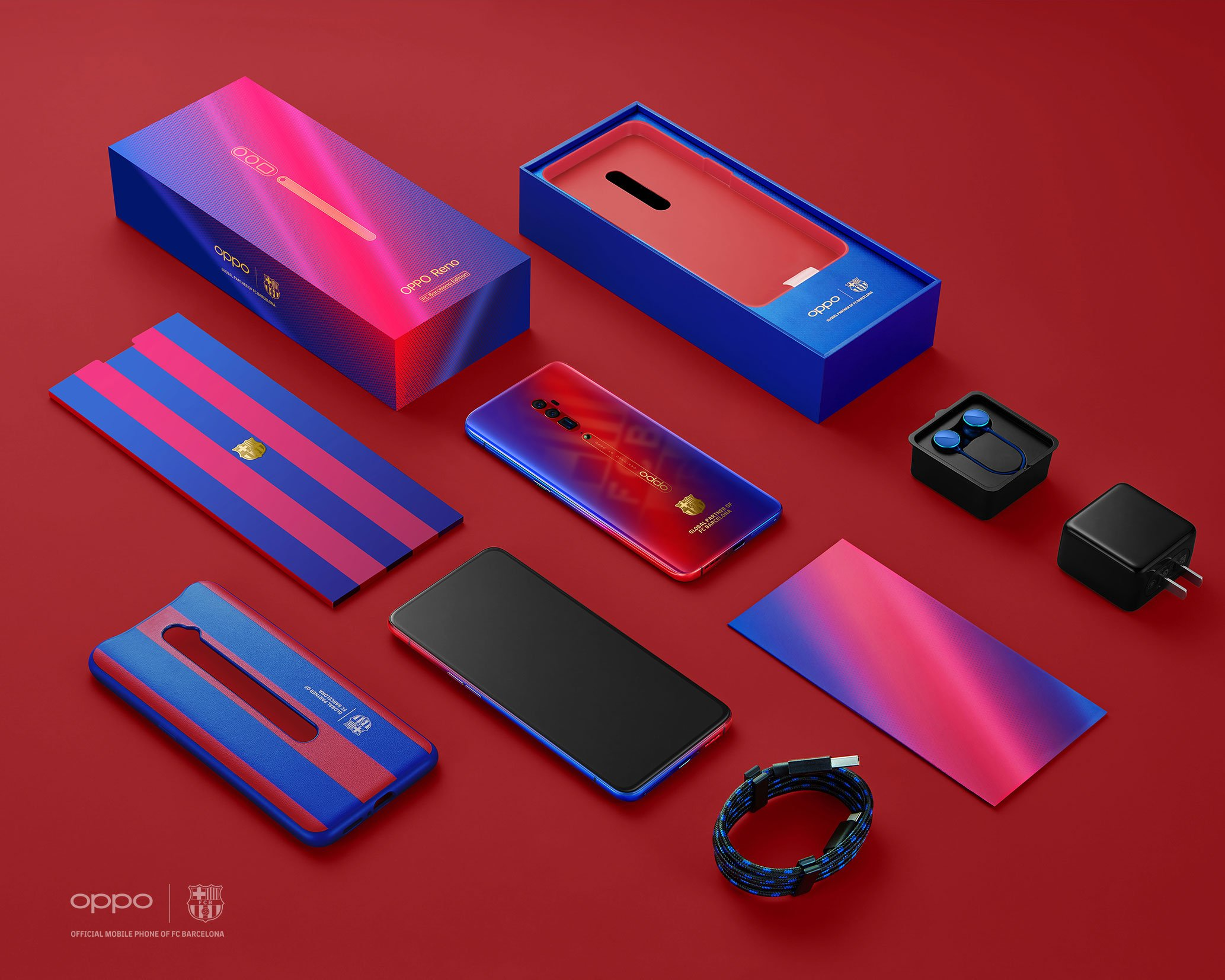 Limited Edition ! Oppo Reno 10x Zoom Edisi Barcelona Hadir di Indonesia 4