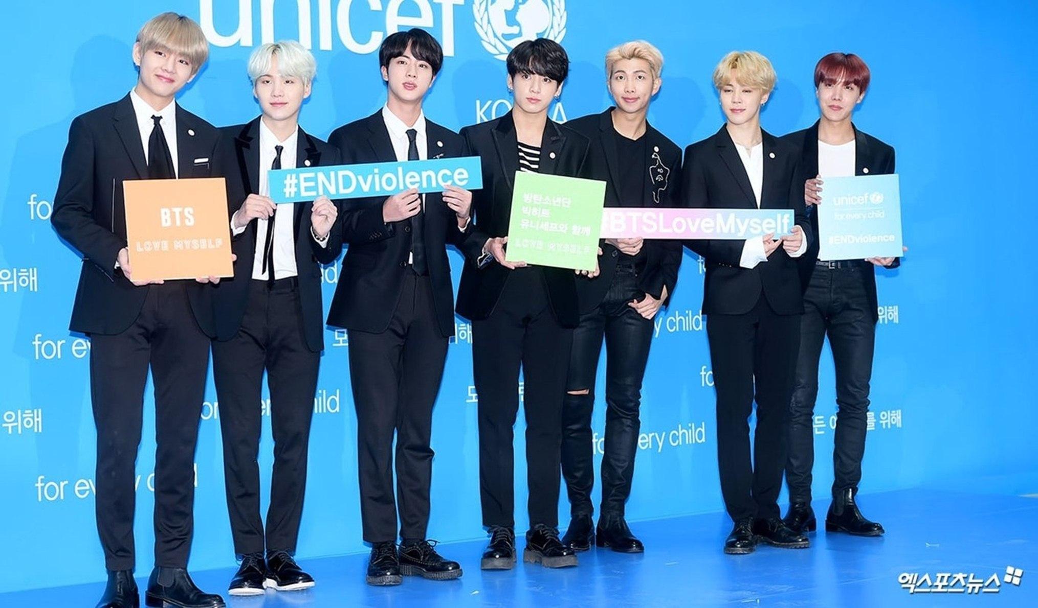 BTS Merilis Video Bersama UNICEF Untuk Hari Persahabatan Dunia 5