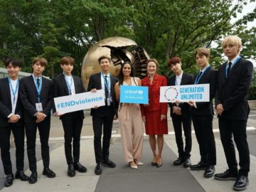 BTS Merilis Video Bersama UNICEF Untuk Hari Persahabatan Dunia 17