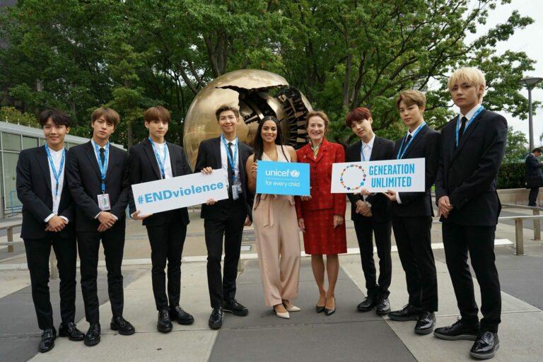 BTS Merilis Video Bersama UNICEF Untuk Hari Persahabatan Dunia 1