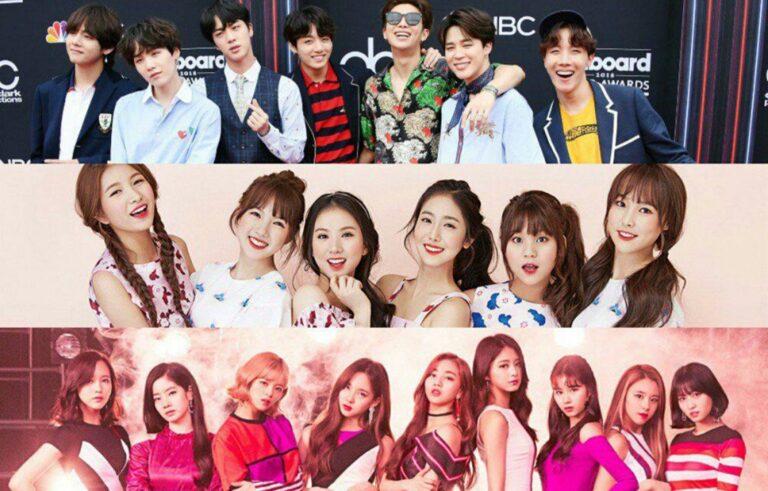 Inilah 10 Grup K-Pop Yang Paling Populer Di China 1