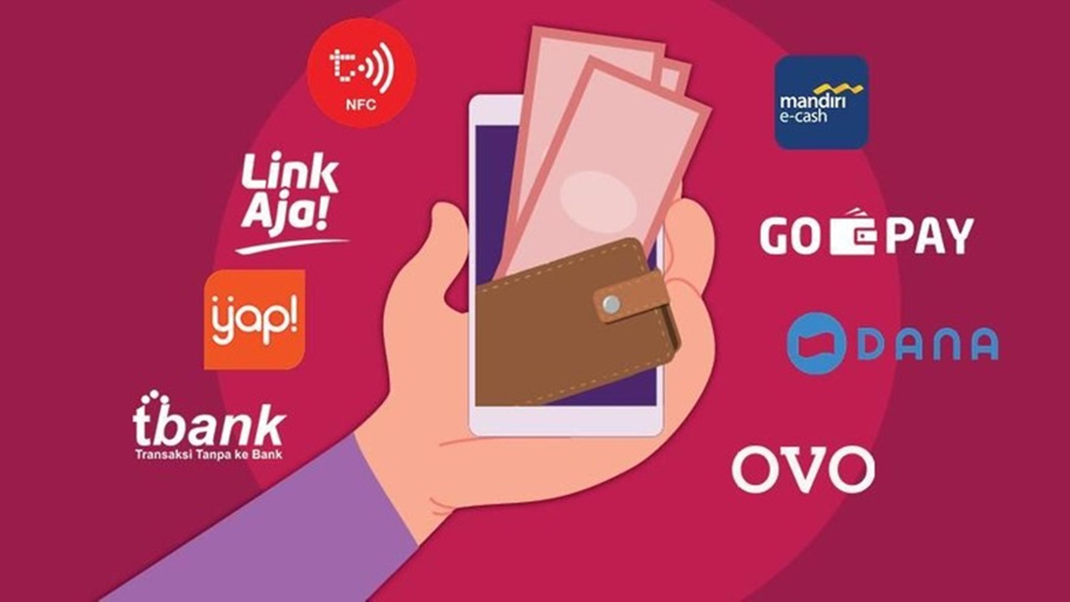 Semakin Mudah Bertransaksi, Aplikasi Dompet Digital Melonjak Naik Sampai 50 Persen 3