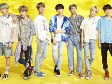BTS Menjadi Grup Idol Korea Pertama yang Memenangkan Penghargaan MTV UK Hottest Summer Superstar 2019 8