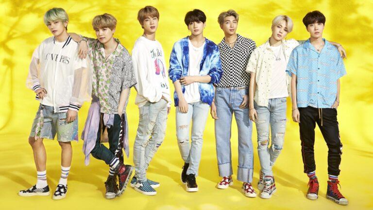 BTS Menjadi Grup Idol Korea Pertama yang Memenangkan Penghargaan MTV UK Hottest Summer Superstar 2019 1