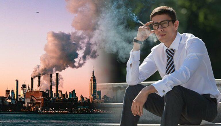 Bahaya Mana, Rokok atau Polusi Udara ? Yang Lebih Meningkatkan Resiko Kanker Paru - Paru 1