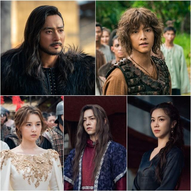 Para Pemain Drama Arthdal Chronicles Memberikan Ucapan Terima Kasih Kepada Pemirsa Dalam Perpisahan Terakhir Saat Drama Telah Berakhir 3