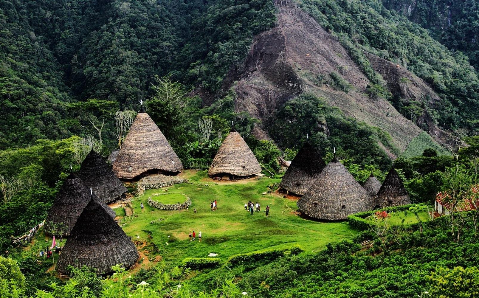 Menjadi Salah Satu Surga di Bumi, Kampung adat Wae Rebo Wajib Kamu Kunjungi 3