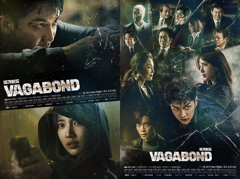 Segera Tayang Drama Vagabond Merilis Poster Terbaru Yang Menampilkan Lee Seung Gi, Suzy, Shin Sung Rok, Dan Beberapa Artis Ternama 3