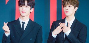 Sempat Bersaing Merebut Posisi Center Produce X 101, Inilah 10 Foto Kedekatan Kim Yoo Han dan Kim Woo Seok X1 9