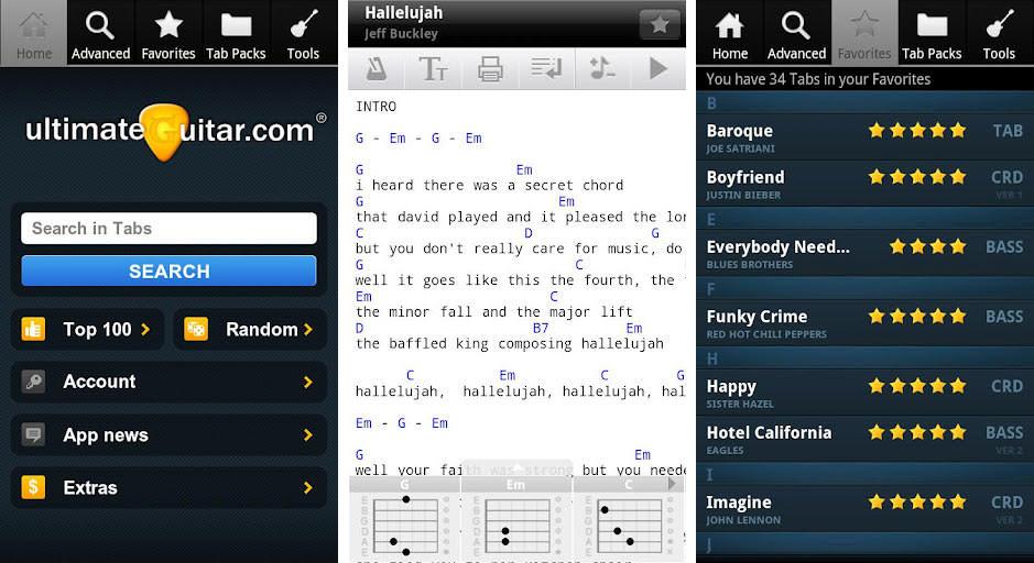 5 Aplikasi Android Tutorial Belajar Gitar 4