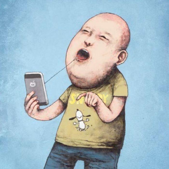 7 Ilustrasi Kontroversial Yang Menyinggung Kehidupan Saat Ini 9