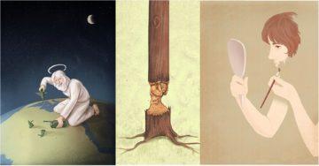7 Ilustrasi Kontroversial Yang Menyinggung Kehidupan Saat Ini 13
