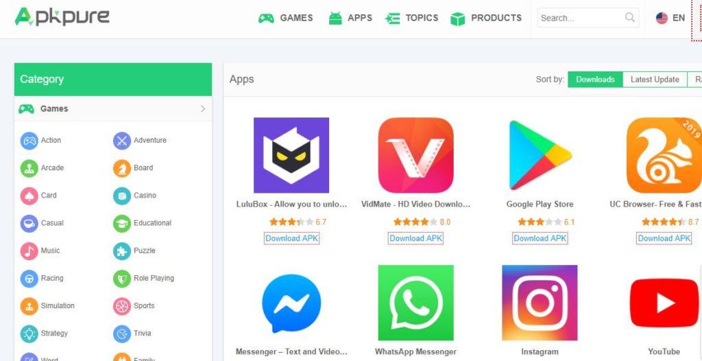 5 Toko Aplikasi Android Gratis dan Bebas Virus Selain Google Playstore 3