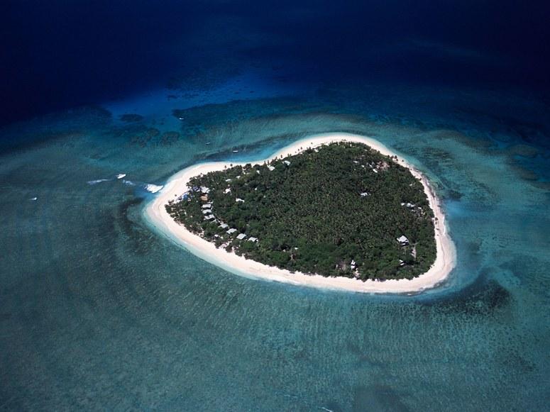10 Pulau Dengan Bentuk Paling Unik di Dunia, Indonesia Salah Satunya ! 6