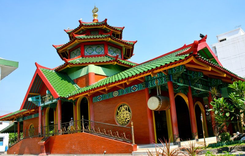 5 Fakta Menarik Masjid Cheng Hoo Surabaya, Mirip Dengan Klenteng ya ! 3