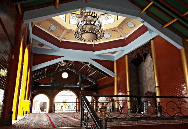 5 Fakta Menarik Masjid Cheng Hoo Surabaya, Mirip Dengan Klenteng ya ! 4