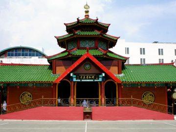 5 Fakta Menarik Masjid Cheng Hoo Surabaya, Mirip Dengan Klenteng ya ! 9