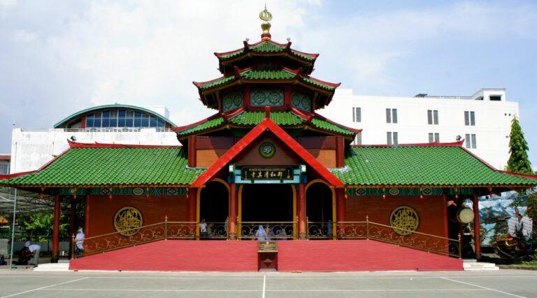 5 Fakta Menarik Masjid Cheng Hoo Surabaya, Mirip Dengan Klenteng ya ! 1