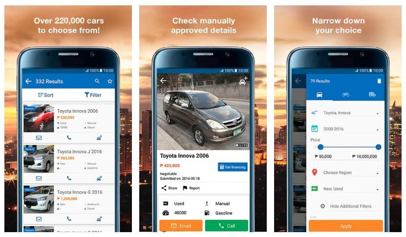 5 Aplikasi Jual Beli Mobil Bekas yang Terpercaya 3