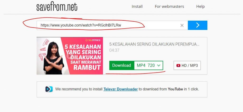 Cara Download Video di Youtube Paling Mudah dan Cepat 2