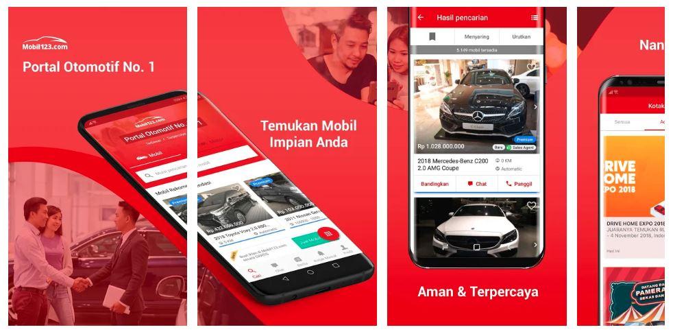 5 Aplikasi Jual Beli Mobil Bekas yang Terpercaya 4