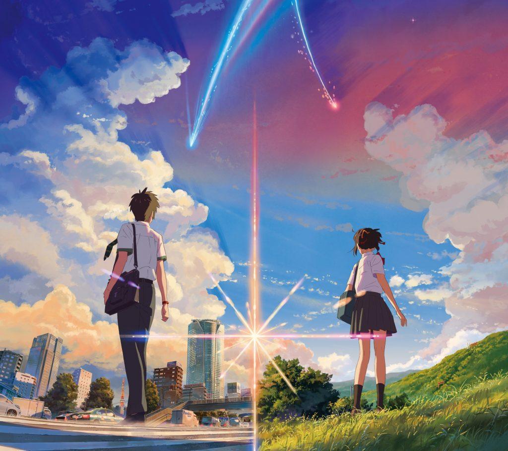 10 Foto Lokasi Asli dari Film Anime Kimi no Na wa 3