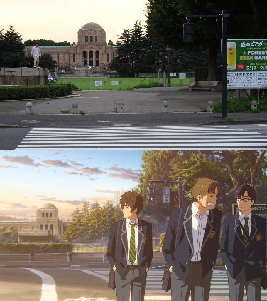 10 Foto Lokasi Asli dari Film Anime Kimi no Na wa 6