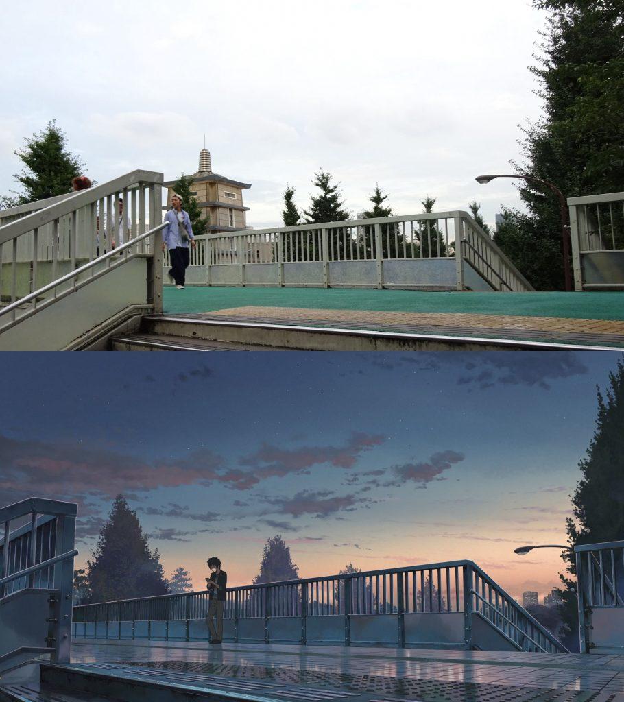 10 Foto Lokasi Asli dari Film Anime Kimi no Na wa 9