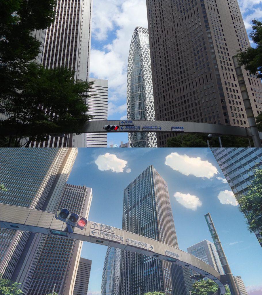 10 Foto Lokasi Asli dari Film Anime Kimi no Na wa 5