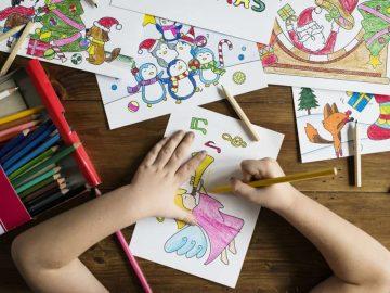5 Cara Mengajarkan Anak Menggambar dan Mewarnai, Dijamin Anak Tidak Cepat Bosan ! 13