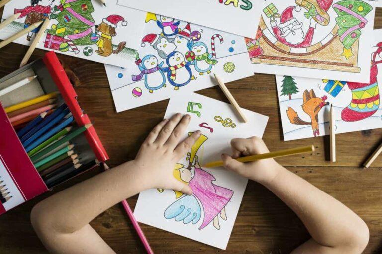 5 Cara Mengajarkan Anak Menggambar dan Mewarnai, Dijamin Anak Tidak Cepat Bosan ! 1