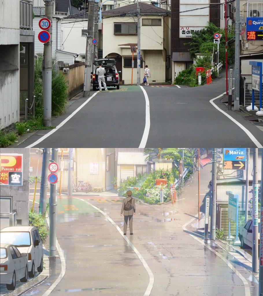 10 Foto Lokasi Asli dari Film Anime Kimi no Na wa 11
