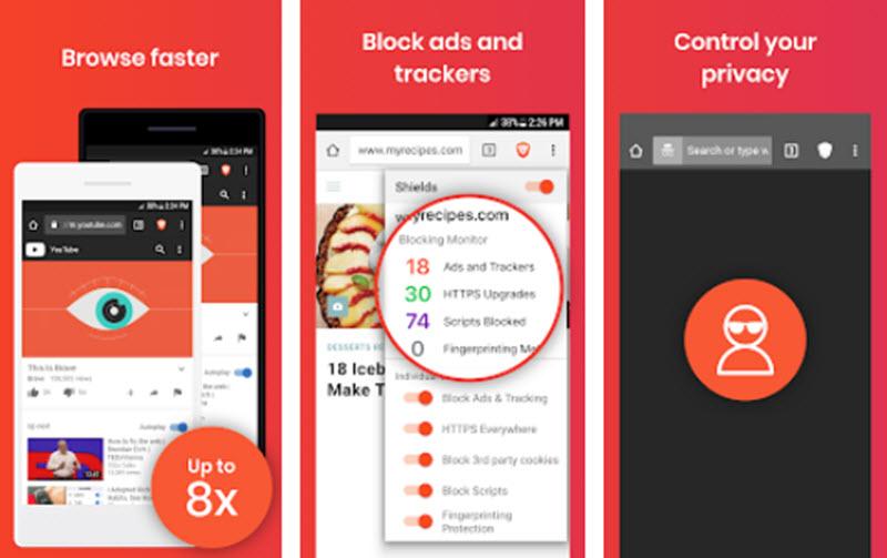 5 Rekomendasi Browser Android Dengan Privasi Yang Aman dan Terbaik 2020 3