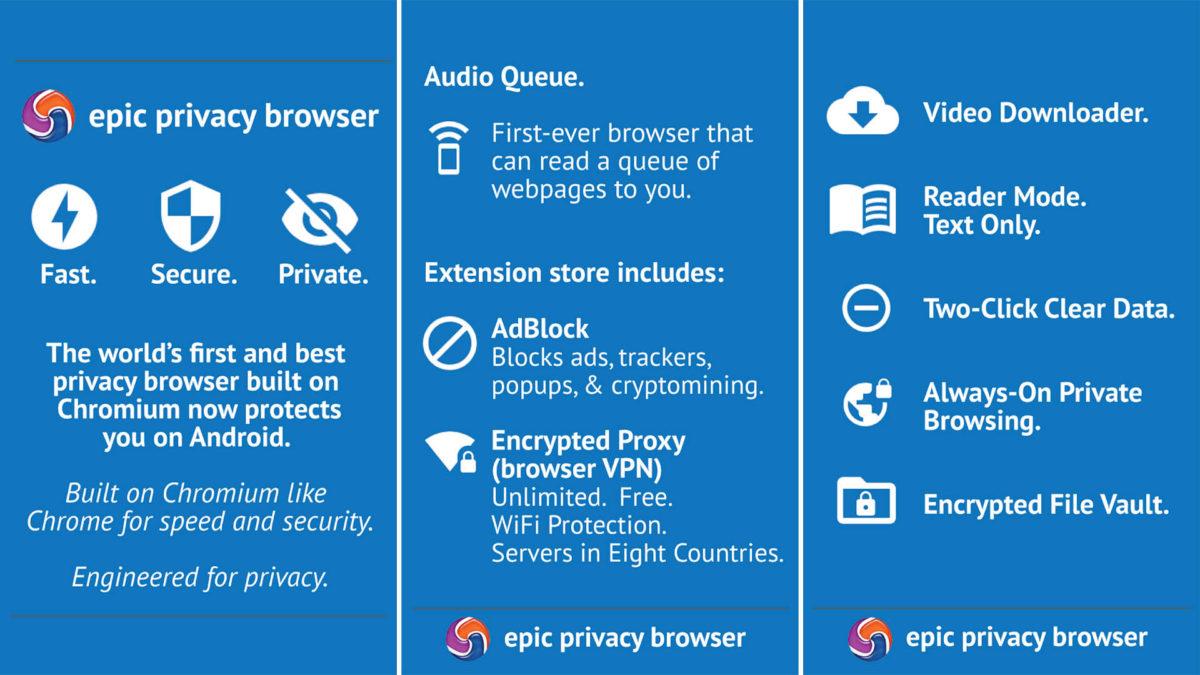 5 Rekomendasi Browser Android Dengan Privasi Yang Aman dan Terbaik 2020 6