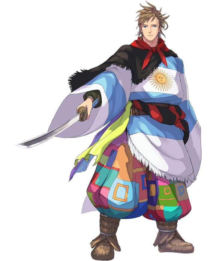30 Negara Partisipan Tokyo 2020 Dibuat Jadi Karakter Anime 23