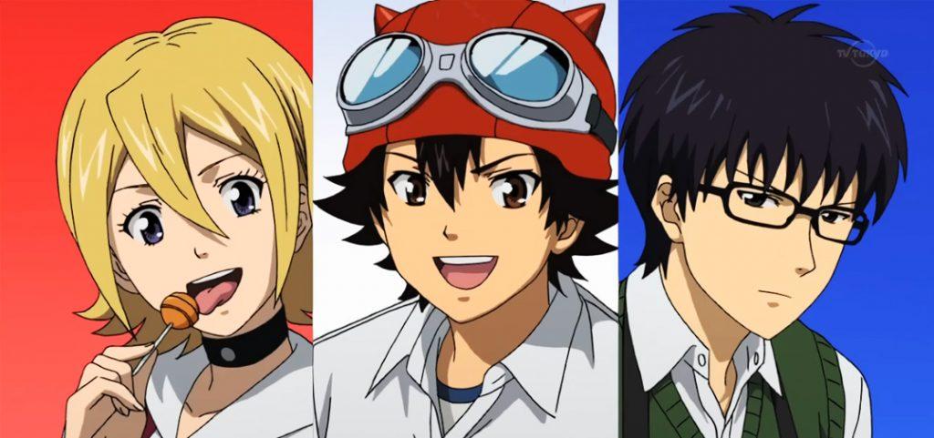 Sket Dance, Anime 'Gintama' dalam Setting Modern Anak Sekolahan 3