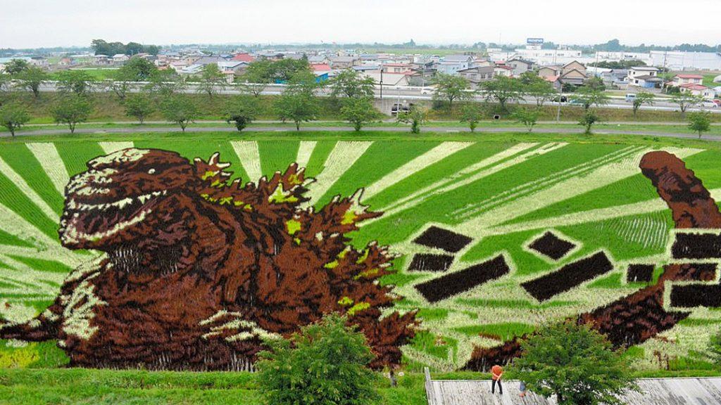 Tambo Art, Seni 'Melukis' di Sawah Asal Negeri Jepang 6