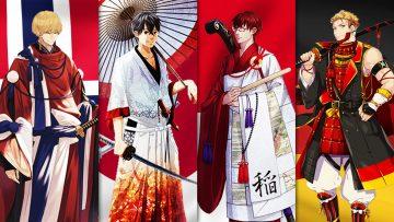 30 Negara Partisipan Tokyo 2020 Dibuat Jadi Karakter Anime 22