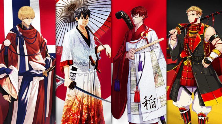30 Negara Partisipan Tokyo 2020 Dibuat Jadi Karakter Anime 1