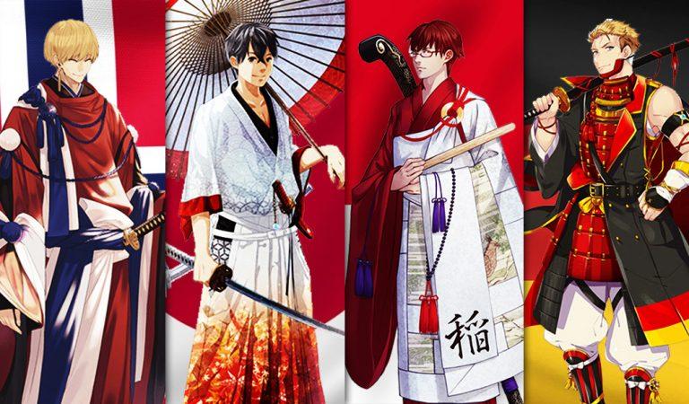 30 Negara Partisipan Tokyo 2020 Dibuat Jadi Karakter Anime
